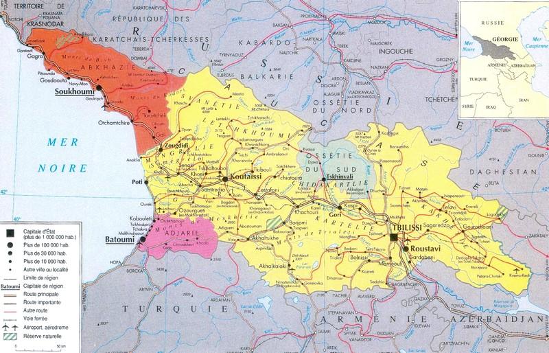 Géographie de la Russie et des espaces postsoviétiques