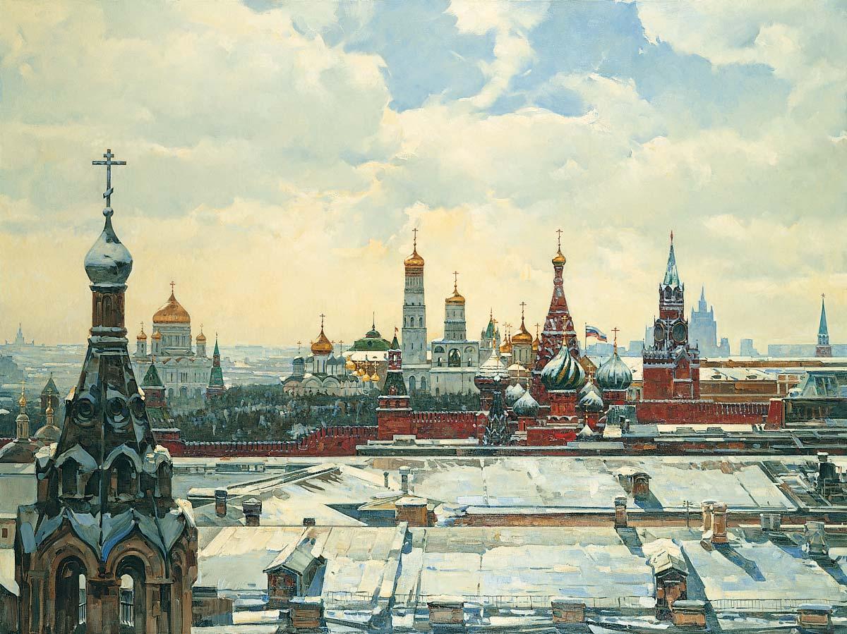 минералами постеры с видом кремля своём